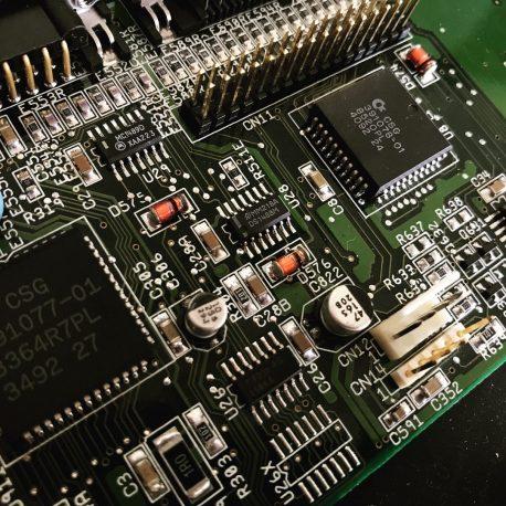 Amiga 1200 Mainboard