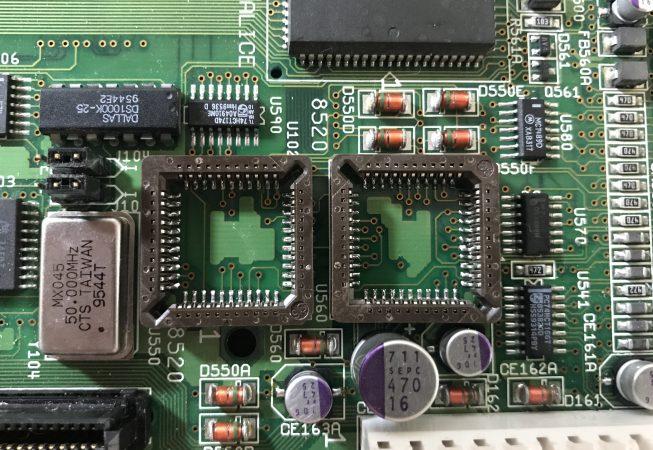 Amiga 4000T Motherboard CIA Chips
