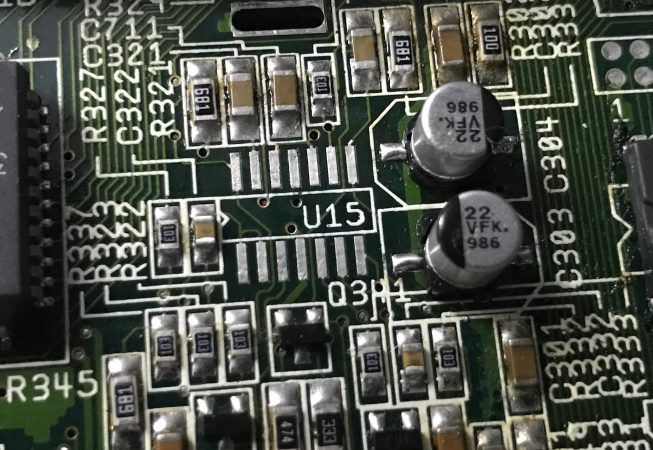 Removal of IC Amiga 1200