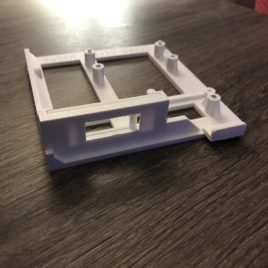 Amiga 1200/600 3D Printed Mount for Gotek