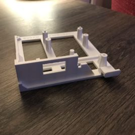 Amiga 500 3D Printed Mount for Gotek